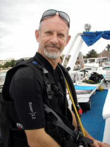 Erick in scuba gear